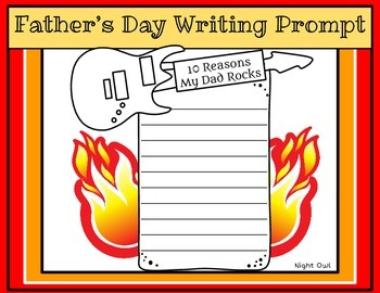 Father's Day Writing Prompt