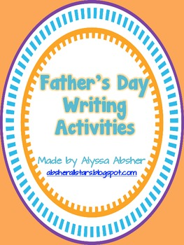 Father's Day Writing and Poetry
