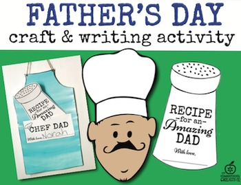 Father's Day and Mother's Day Craft & Writing BUNDLE
