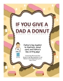 Father's Day book, poem and crafts