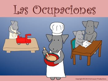 Occupations in Spanish by Pepper with Mother's Day and Father's Day Cards