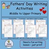 Fathers'DayWritingActivities