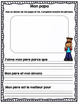 French Father's day / Fête des pères (français)