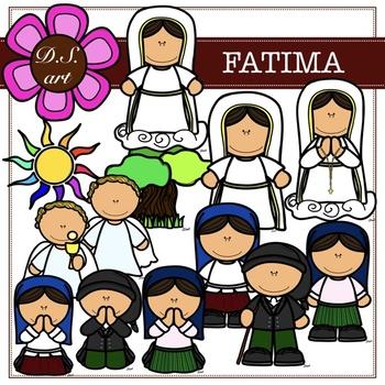 Fatima Digital Clipart (color and black&white)