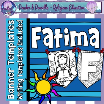 Fatima - Mary the Mother of God and the Miracle of the Sun - Banners