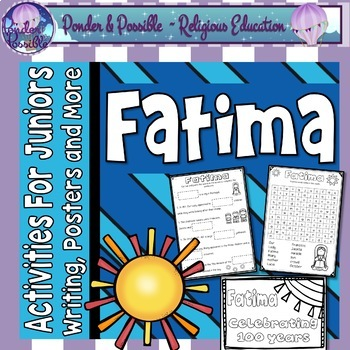 Fatima - Mary the Mother of God and the Miracle of the Sun - Junior Activities