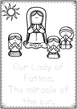 Our Lady of Fatima and the Miracle of the Sun: Junior Activities