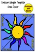 Our Lady of Fatima and the Miracle of the Sun: Spinner Templates