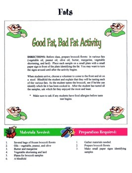 Fats Game / Activity