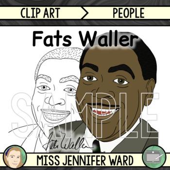 Fats Waller Clipart