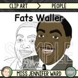 Fats Waller Clip Art