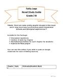 Fatty Legs Novel Study Unit Plan