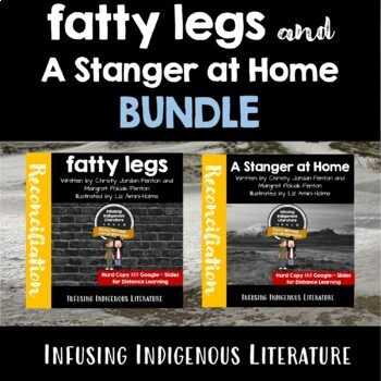 Fatty Legs and A Stranger at Home BUNDLE - Inuit, Native American Novel Studies