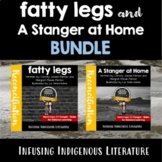 Fatty Legs and A Stranger at Home BUNDLE - Distance Learning and Workbook