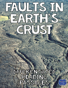 Faults in Earth's Crust Differentiated Nonfiction Reading Passages