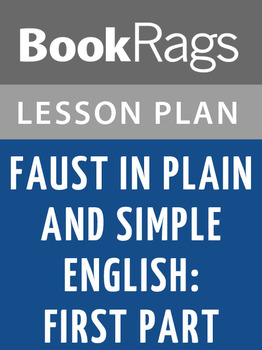 Lesson Plans Faust. First Part
