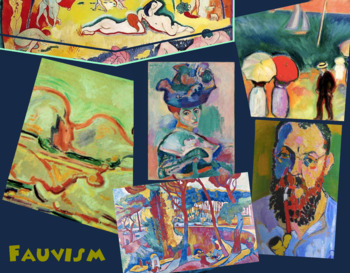 Fauvism Fauve Painters ~ Art History ~ FREE POSTER
