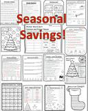 Fave 15 Christmas Activities 2nd Grade Math & Language & W