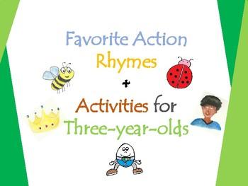 Favorite Action Rhymes - 10 Nursery Rhymes