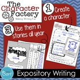 Expository Writing Project: My Favorite Animal {Character Factory}