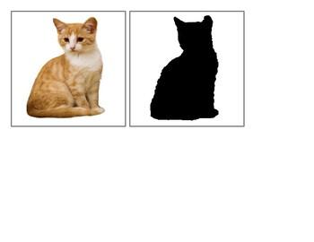 Favorite Animals - Silhouettes - Montessori Toddler