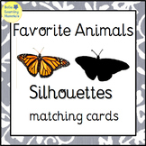 Favorite Animals - Silhouettes - Montessori Toddler