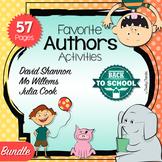 Favorite Authors - Activities BUNDLE