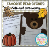 Favorite Bear Stories for Fall and Into Winter...Hibernation!