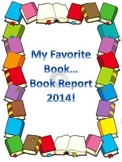 Favorite Book - Book Report!