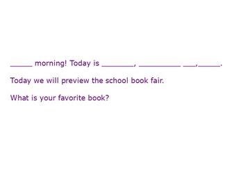 Favorite Book Flip Chart