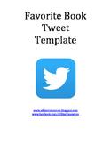 Favorite Book Tweet Template