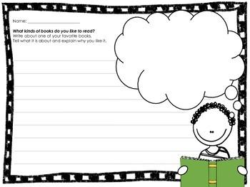 Favorite Book Writing Prompt