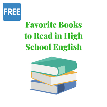 Favorite Books to Read in High School English