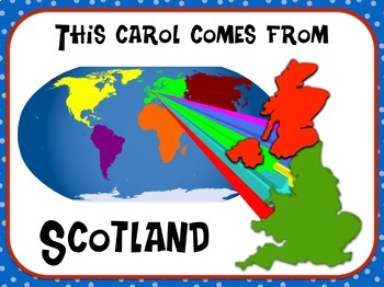 Favorite Carol - Auld Lang Syne Teacher Kit Christmas Carol