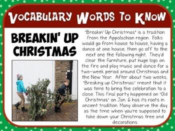 Favorite Carol - Breakin' Up Christmas Teacher Kit Christmas Carol