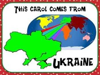 Favorite Carol - Carol of the Bells Teacher Kit Christmas Carol