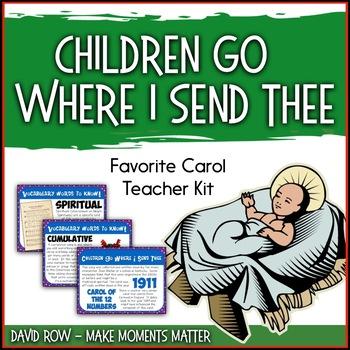 Favorite Carol - Children Go Where I Send Thee Teacher Kit Christmas Carol