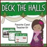 Favorite Carol - Deck the Halls Teacher Kit Christmas Carol