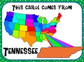 Favorite Carol - Go Tell It On the Mountain Teacher Kit Christmas Carol
