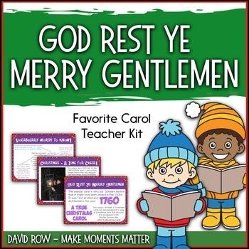 Favorite Carol - God Rest Ye Merry, Gentlemen Teacher Kit Christmas Carol