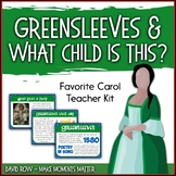Favorite Carol - Greensleeves/What Child is This? Teacher