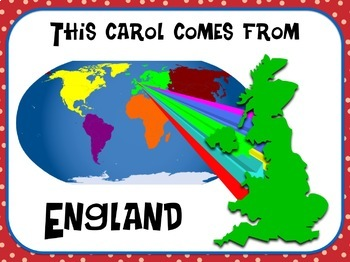 Favorite Carol - Here We Come A-Wassailing Teacher Kit Christmas Carol