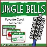 Favorite Carol - Jingle Bells Teacher Kit Christmas Carol