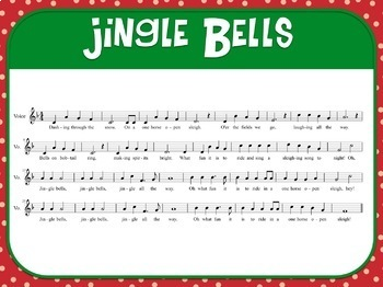 Favorite Carol - Jingle Bells Teacher Kit Christmas Carol