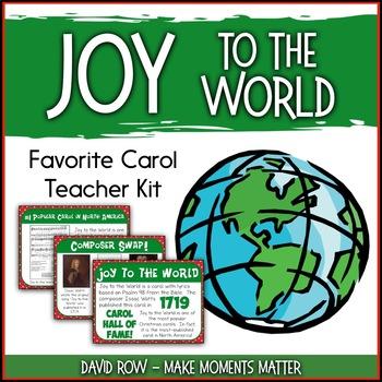 Favorite Carol - Joy to the World Teacher Kit Christmas Carol