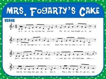 Favorite Carol - Mrs. Fogarty's Cake Teacher Kit Christmas Carol
