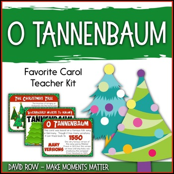 Favorite Carol - O Tannenbaum Teacher Kit Christmas Carol