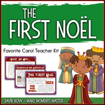 Favorite Carol - The First Noel Teacher Kit Christmas Carol