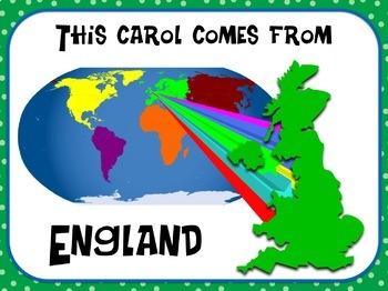 Favorite Carol - We Wish You a Merry Christmas Teacher Kit Christmas Carol