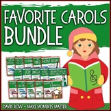 Favorite Carols BUNDLE ONE – 15 Song Teacher Kit Christmas Carol